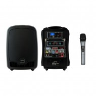FC-2000 /행사용,연주용,보컬용,블루투스,USB,Sd Card,무선1채널900Mhz,녹음,에코,AUX,리모콘,리튬이온배터리사용,휴대용가방,200와트