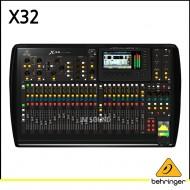 X32/40입력/25버스 디지털 믹싱 콘솔/32 프로그래머블 MIDAS 프리앰프/25 모터 페이더/채널LCD/32 채널 오디오 인터페이스 & iPad/iPhone