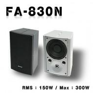 FA-830N 매장,강의실,사무실,회의실,학교,학원,도장,종교,카페,다용도스피커,1개단가,정격,150와트 최대300 와트현재 블랙 색상 만 있습니다