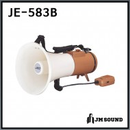 JE-583B/메가폰/확성기/마이크/최대출력 30와트