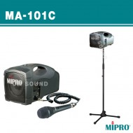 MA-101C /충전식,유선마이크,50와트 동급 최강 파워의 충전식 앰프 고성능 유선 마이크를 사용