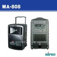 MA-808 /충전식,무선마이크1개사용,CD플레이어장착,500와트