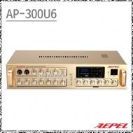 AP-300U6 /6CH,300W,고출력디지털앰프,USB,AUX지원,개별볼륨조절