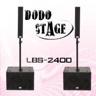 LBS-2400/DODO STAGE/Full Range Passive Speaker RMS 180와트,MAX 360와트/12인치 Subwoofe Passive Speaker RMS 600와트,MAX 2400와트,1조2개