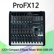 ProFX12/12채널 프로페셔널 이펙트 믹서/USB