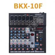 카날스 BKX-10F 아날로그 오디오믹서 10채널 KANLS 이펙터내장 USB인터페이스 랙타입